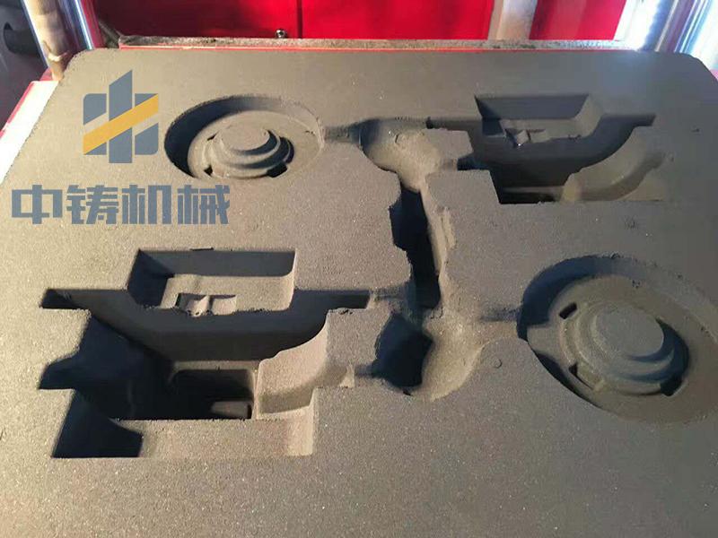空压机配件铸造生产造型