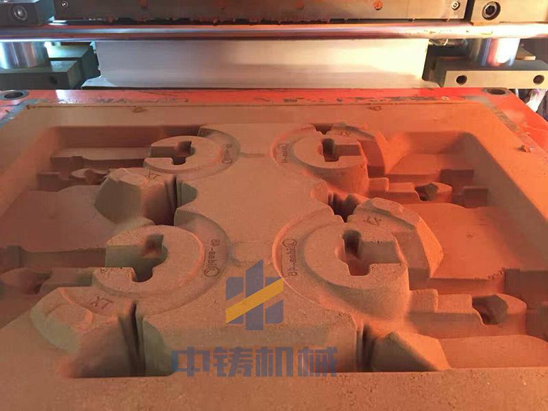 红砂自动造型机,红砂铸造造型