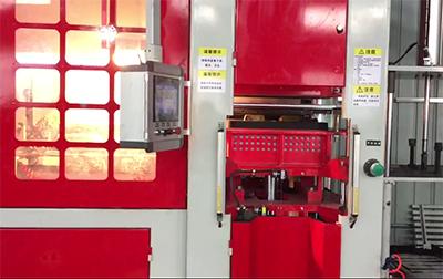 全自动造型机运行视频