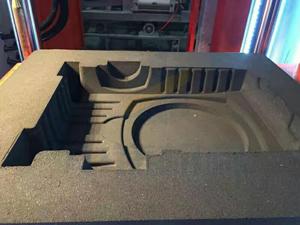 减速壳砂型,减速壳铸造造型机