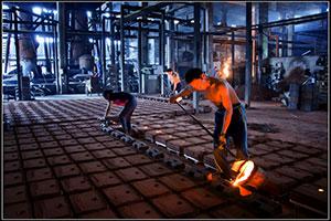 铸造造型生产线