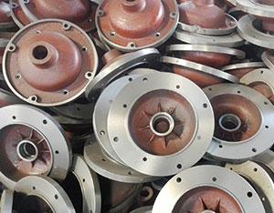 起重锥形电机端盖铸件