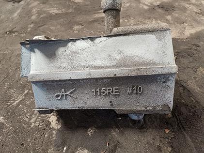 水平射砂造型机