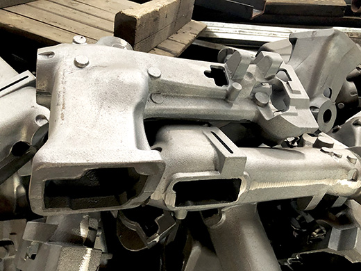 缝纫机机壳铸件