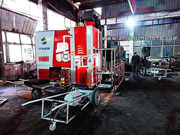 造型机_河南淅川铸造造型机华杨机械使用案例