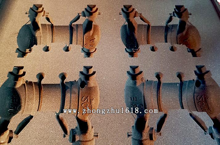 铸铜水表壳铸造造型